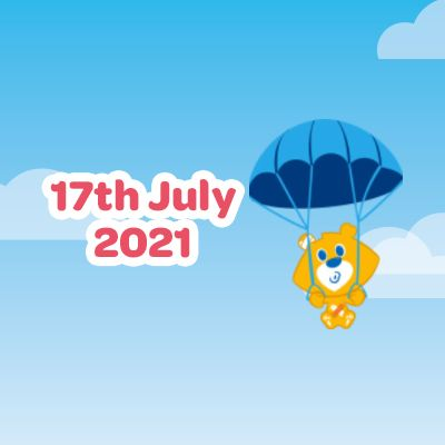 Team Theo\'s Skydive - 17 July 2021